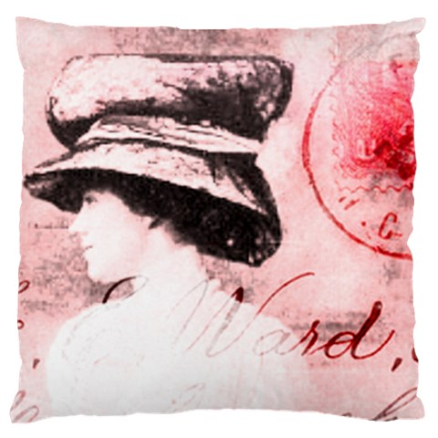 Victorian By J M  Raymond   Large Cushion Case (one Side)   7c6t0xyewy1r   Www Artscow Com Front