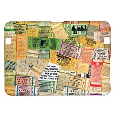 Retro Concert Tickets Kindle Fire Hd 8 9  Hardshell Case by StuffOrSomething