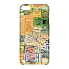 Retro Concert Tickets Apple Ipod Touch 5 Hardshell Case With Stand by StuffOrSomething