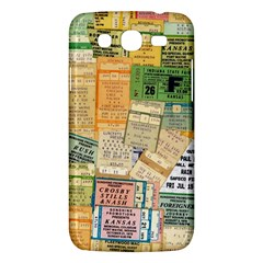 Retro Concert Tickets Samsung Galaxy Mega 5 8 I9152 Hardshell Case  by StuffOrSomething
