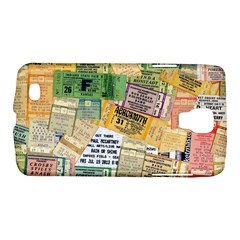 Retro Concert Tickets Samsung Galaxy S4 Active (i9295) Hardshell Case by StuffOrSomething
