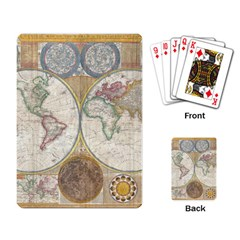 1794 World Map Playing Cards Single Design by StuffOrSomething