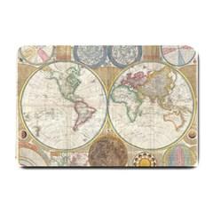 1794 World Map Small Door Mat