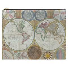 1794 World Map Cosmetic Bag (xxxl) by StuffOrSomething