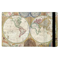 1794 World Map Apple Ipad 3/4 Flip Case by StuffOrSomething