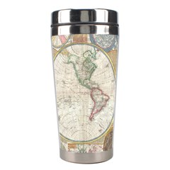 1794 World Map Stainless Steel Travel Tumbler by StuffOrSomething