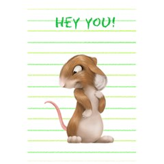 Hey You By J M  Raymond   5 5  X 8 5  Notebook   Pprsy19azbt8   Www Artscow Com Front Cover