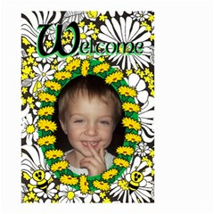Welcome Small Garden Flag By Joy Johns   Small Garden Flag (two Sides)   5xgguws93nek   Www Artscow Com Front