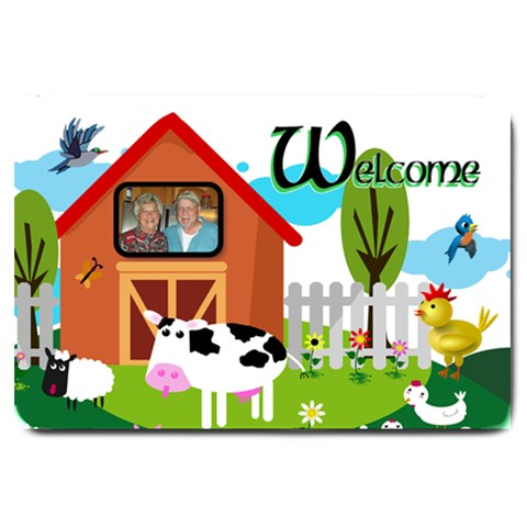 Barnyard Large Doormat By Joy Johns   Large Doormat   B9gk3yekzkyu   Www Artscow Com 30 x20 Door Mat - 1