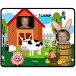 Kid s Barnyard medium blanket - Fleece Blanket (Medium)