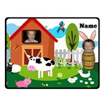 Kid s Barnyard small  blanket - Fleece Blanket (Small)