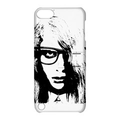 Hipster Zombie Girl Apple Ipod Touch 5 Hardshell Case With Stand by chivieridesigns