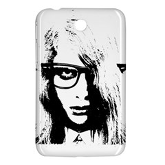 Hipster Zombie Girl Samsung Galaxy Tab 3 (7 ) P3200 Hardshell Case  by chivieridesigns