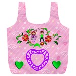 Lover s Swing XL recycle bag - Full Print Recycle Bag (XL)