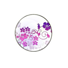 Floral Garden Golf Ball Marker 10 Pack (for Hat Clip) by Colorfulart23