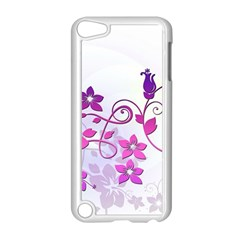 Floral Garden Apple Ipod Touch 5 Case (white) by Colorfulart23