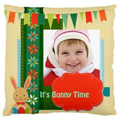 Easter By Easter   Large Cushion Case (two Sides)   Luv1e12u4i6n   Www Artscow Com Front