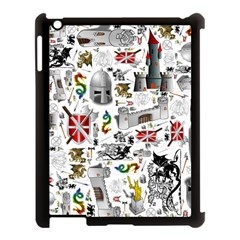 Medieval Mash Up Apple Ipad 3/4 Case (black) by StuffOrSomething