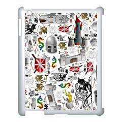 Medieval Mash Up Apple Ipad 3/4 Case (white) by StuffOrSomething