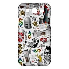 Medieval Mash Up Samsung Galaxy Mega 5.8 I9152 Hardshell Case