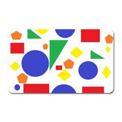 Random Geometrics Magnet (rectangular) by StuffOrSomething