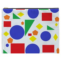 Random Geometrics Cosmetic Bag (xxxl) by StuffOrSomething