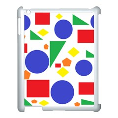Random Geometrics Apple Ipad 3/4 Case (white) by StuffOrSomething