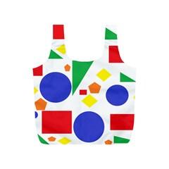 Random Geometrics Reusable Bag (s) by StuffOrSomething