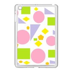 Spring Geometrics Apple Ipad Mini Case (white) by StuffOrSomething