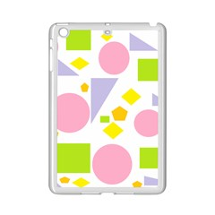 Spring Geometrics Apple Ipad Mini 2 Case (white) by StuffOrSomething