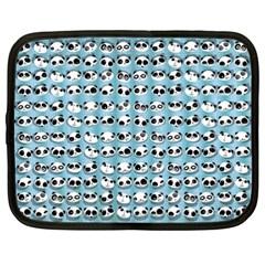 Panda Panda Netbook Sleeve (xxl) by undertwisted