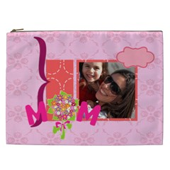 Mothers Day By Mom   Cosmetic Bag (xxl)   9715b629tuad   Www Artscow Com Front