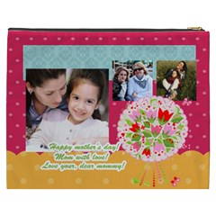Mothers Day By Mom   Cosmetic Bag (xxxl)   06bxi5inb6g9   Www Artscow Com Back