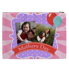 Mothers Day By Mom   Cosmetic Bag (xxl)   C8jtc6b7wtbf   Www Artscow Com Back