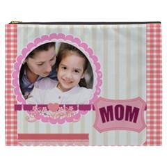 Mothers Day By Mom   Cosmetic Bag (xxxl)   G68igbg3tddu   Www Artscow Com Front