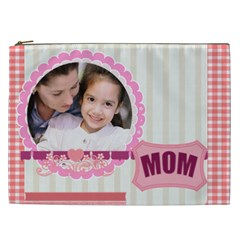 Mothers Day By Mom   Cosmetic Bag (xxl)   75wlr1cabeyx   Www Artscow Com Front