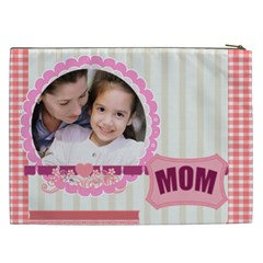 Mothers Day By Mom   Cosmetic Bag (xxl)   75wlr1cabeyx   Www Artscow Com Back
