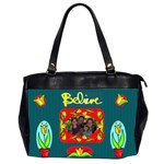 Believe office handbag, 2 sides - Oversize Office Handbag (2 Sides)