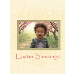 Easter Card By Angeye   Greeting Card 4 5  X 6    Ldmxye8vwv59   Www Artscow Com Front Inside