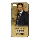 Fitz Phone - Apple iPhone 4/4s Seamless Case (Black)