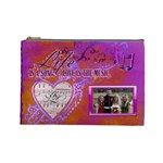 Love Song large cosmetic bag - Cosmetic Bag (Large)