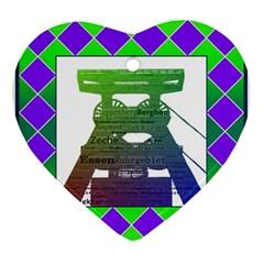 Mine Heart Ornament