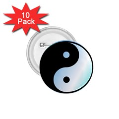 Ying Yang  1 75  Button (10 Pack) by Siebenhuehner