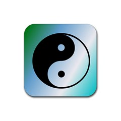 Ying Yang  Drink Coasters 4 Pack (square) by Siebenhuehner