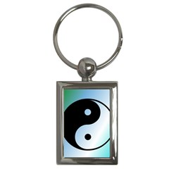 Ying Yang  Key Chain (rectangle) by Siebenhuehner