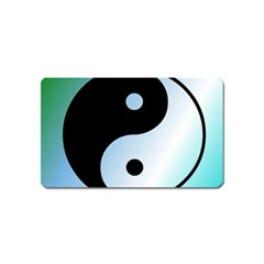 Ying Yang  Magnet (name Card) by Siebenhuehner