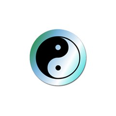 Ying Yang  Golf Ball Marker 4 Pack by Siebenhuehner