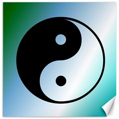 Ying Yang  Canvas 12  X 12  (unframed) by Siebenhuehner