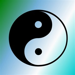 Ying Yang  Canvas 16  X 16  (unframed) by Siebenhuehner