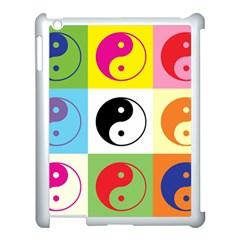 Ying Yang   Apple Ipad 3/4 Case (white) by Siebenhuehner